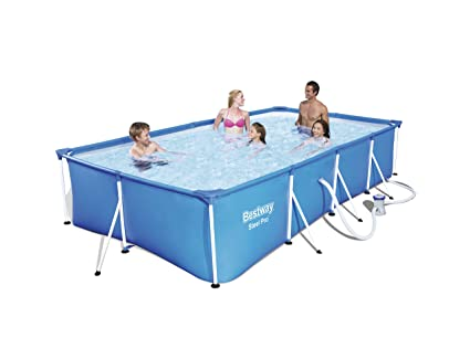 Bestway 56424 - Piscina Desmontable Tubular Infantil Bestway Family Splash Frame Pool (400 x 211