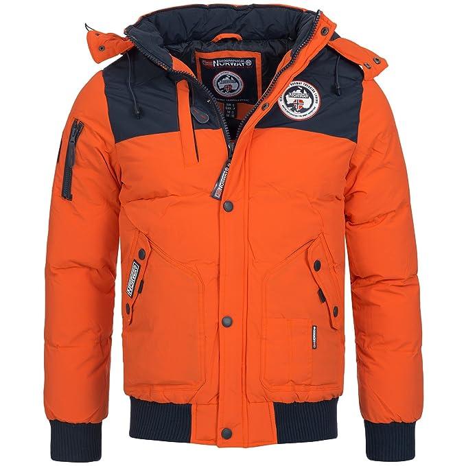 Geographical Norway VERTIGO Herren Winterjacke Jacke Outdoor warm gefüttert Gr. S XXXL 4Farben