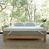 Novilla 2 Inch Gel Memory Foam Mattress Topper for Cooling Sleep & Pressure Relieving, Soft Queen Mattress Topper with Removable & Washable Bamboo Cover,Queen Size