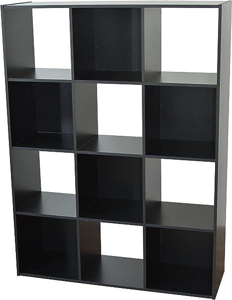 de x Compo Noir 30 12 Casiers Cubes Etagères Rangement 92 cm Alsapan 123 Meuble Bibliothèque x Kl13TFcJ