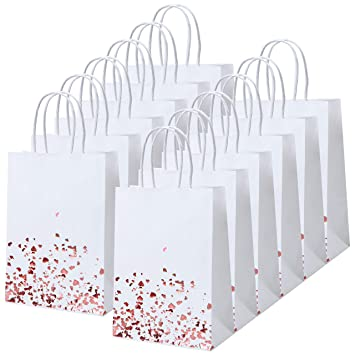 Amazon.com: Cooraby 18 bolsas de papel de bronce para ...
