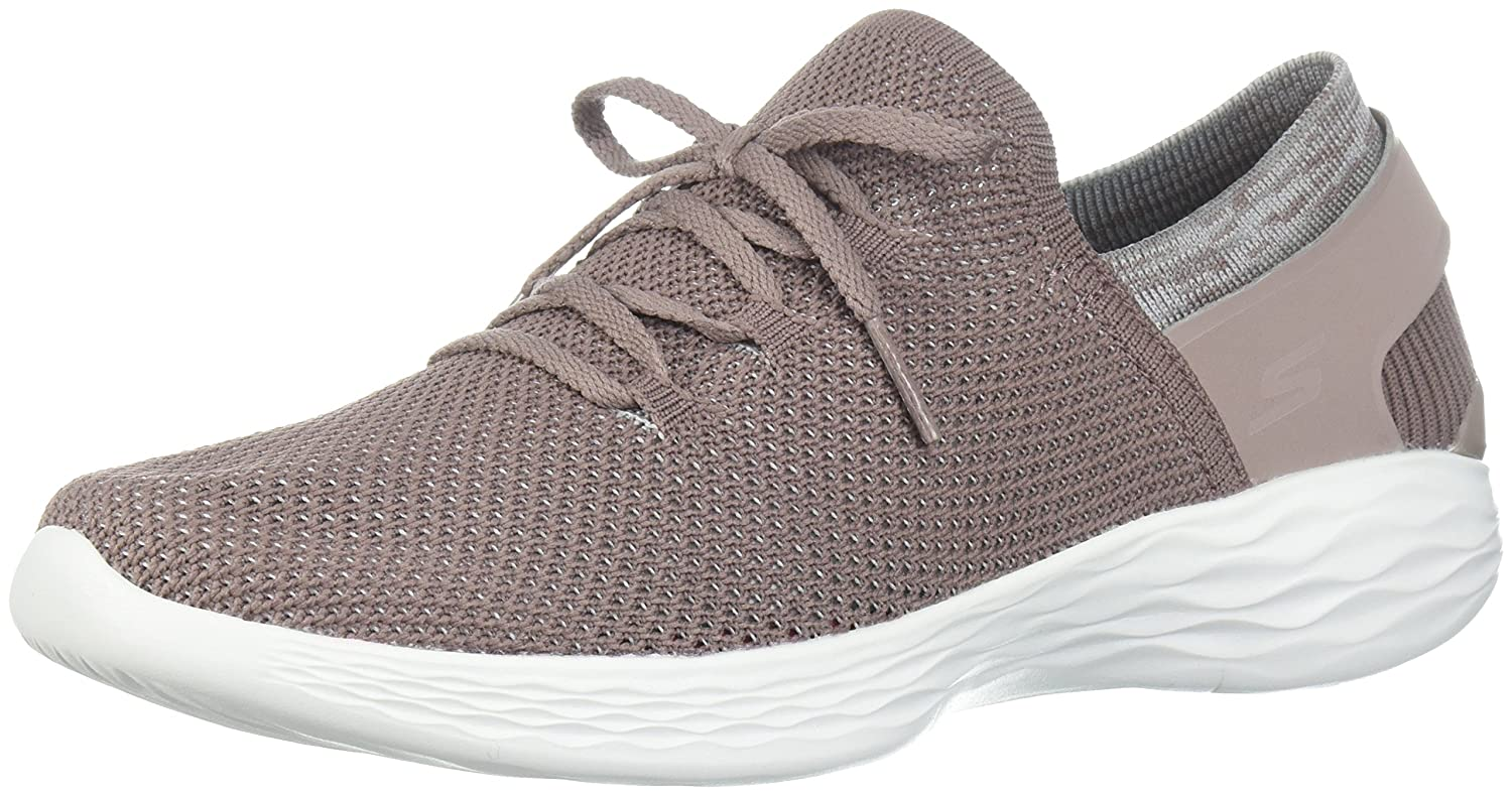 Skechers Women's You-14960 Sneaker B071GMLT45 6.5 B(M) US|Mauve