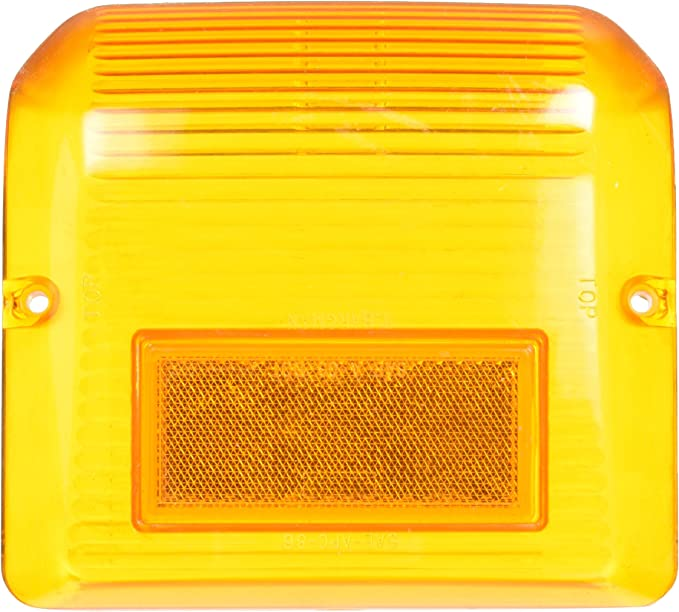 Bargman 34-86-203 Wrap-Around Clearance//Side Marker Light with Black Base - Amber