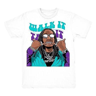 1641a9f036fb43 Grape 5 Walk It Shirt to Match Jordan 5 Grape Fresh Prince Sneakers White t-