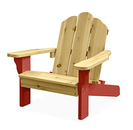 Peachy Heritage Kids Nk656799 Adirondack Red Andrewgaddart Wooden Chair Designs For Living Room Andrewgaddartcom