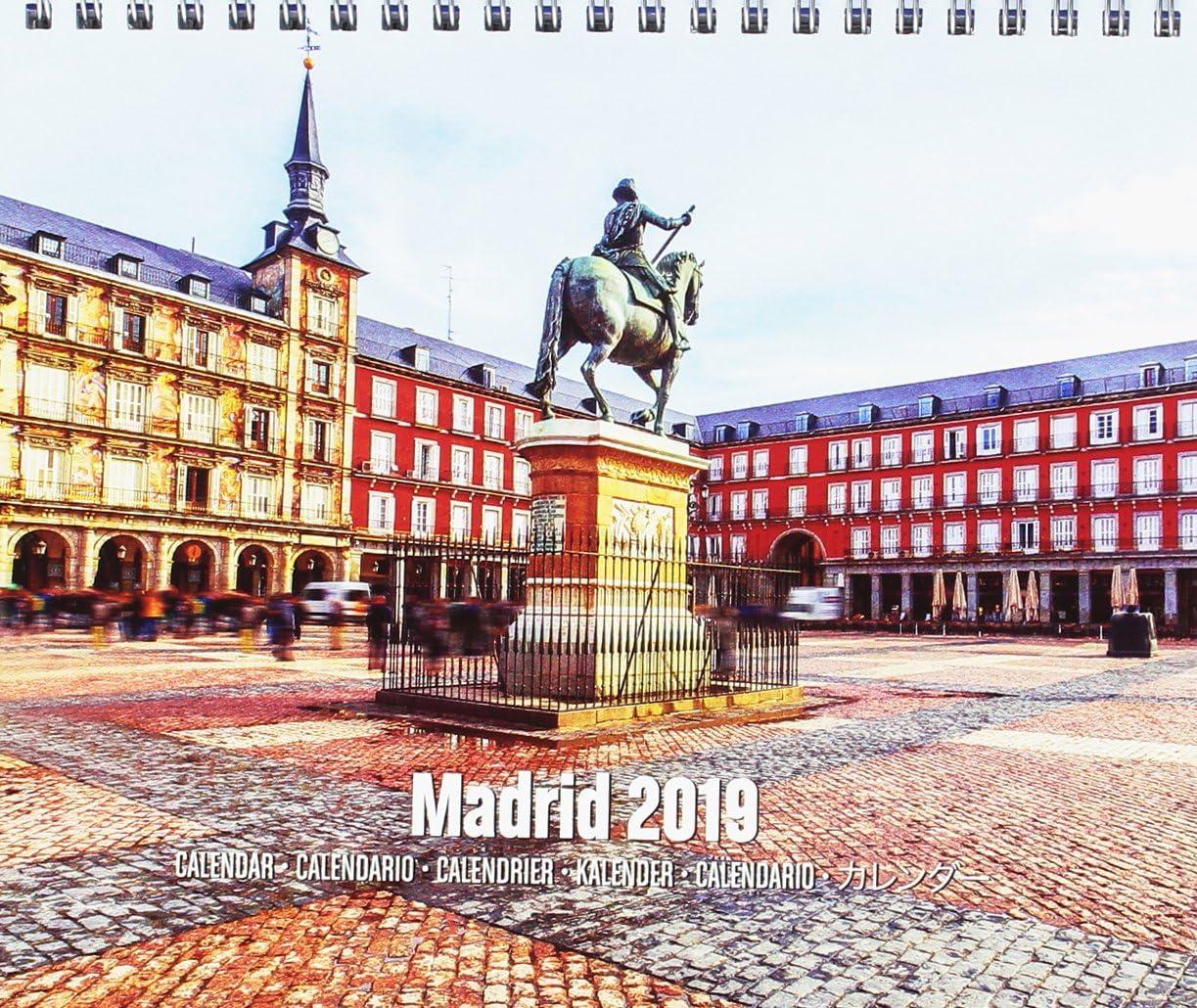 Grupo Erik - Calendario Da Tavolo 2019 Madrid 17 X 20 Cm