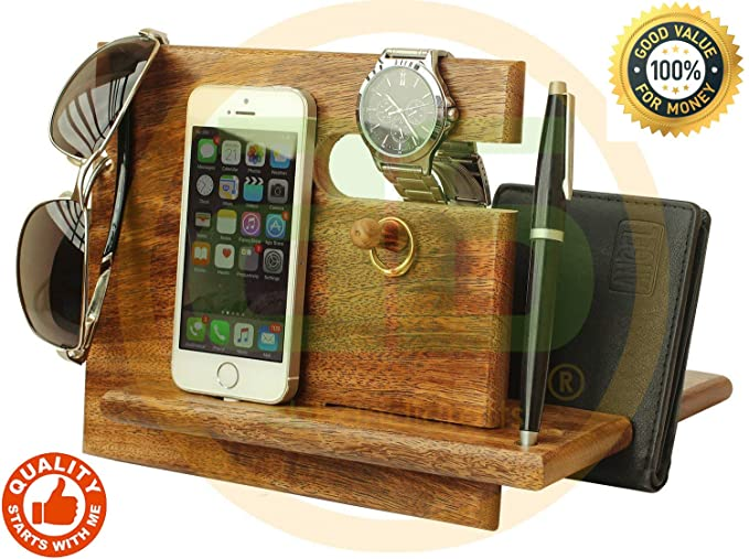00fc8115cb51a Amazon.com  Deal of The Day - Universal Wooden Docking Station ...