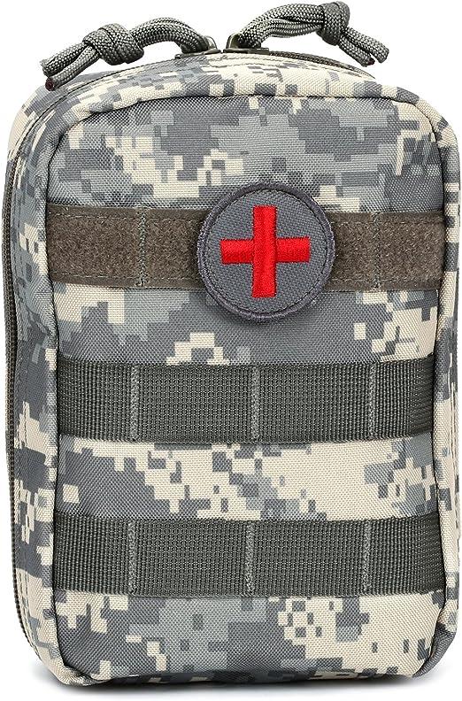 Medical Molle Pouch for Tourniquet /& Trauma Shears First Aid Kits Flashlight Bag
