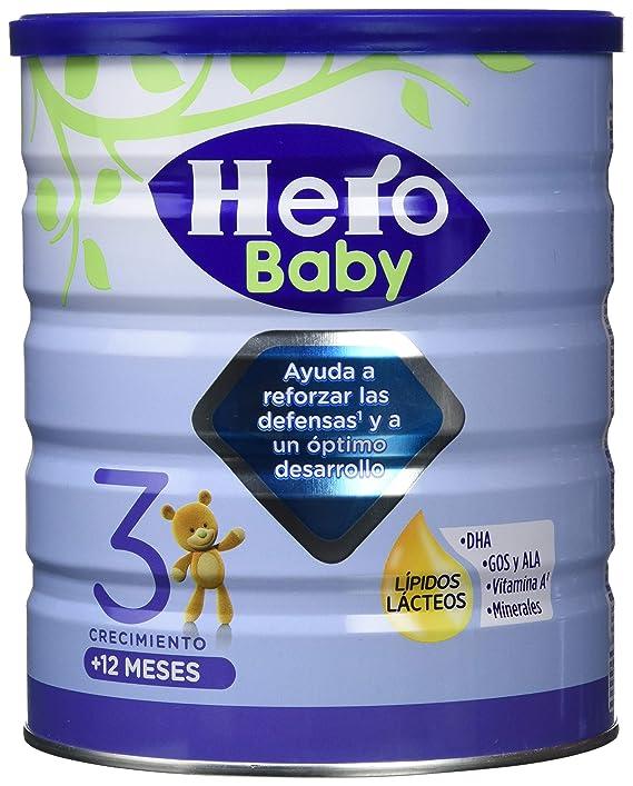 Hero Baby Leche de Crecimiento - 800 gr: Amazon.es: Alimentación y bebidas