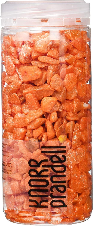 Knorr Prandell 218236204piedras decorativas 9–13mm, 500ml, color: naranja