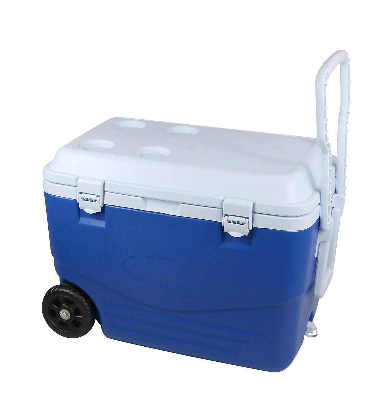 Cao 463 Kühlbox Unisex Erwachsene, Blau/Weiß