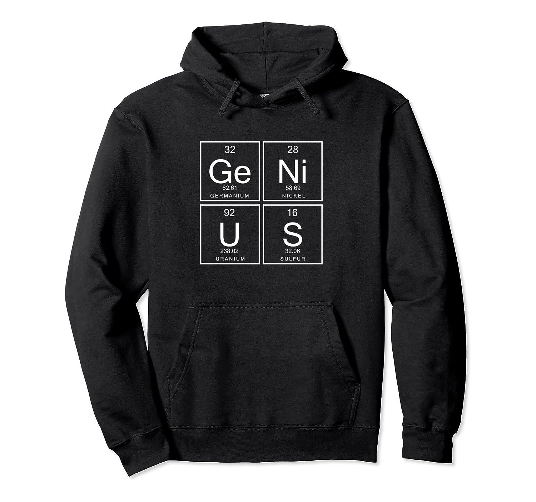 Genius Nerd Nerdy Geek Computer Science Physics Hoodie-Awarplus