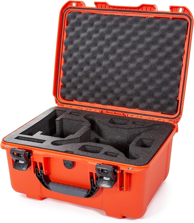 Nanuk 933 DJI Drone Waterproof Hard Case with Custom Foam Insert for The Phantom 4 Pro / 4 Pro+ / 4 Pro+ 2.0 & 4 RTK - Orange