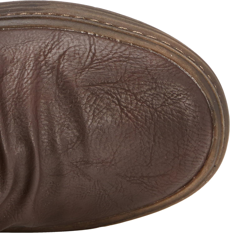 Blowfish Olin Chocolate PU 3 Strap Womens Mid Calf Winter Boots Shoes