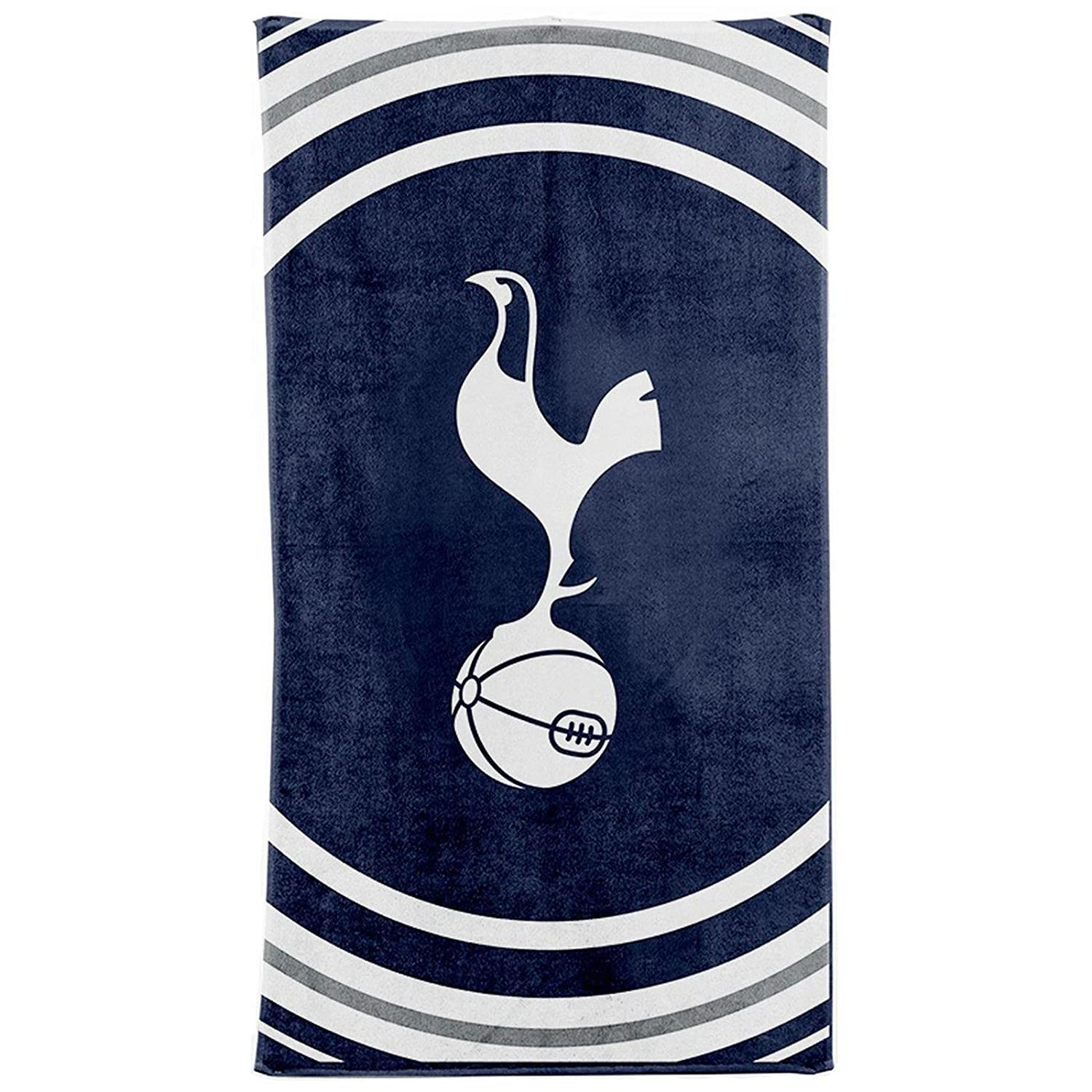NEW 100% OFFICIAL FOOTBALL CLUB TEAM STRIP TOWELS BEACH BATH GYM SWIM LICENSED (Tottenham) EH-TO8K-KDT2