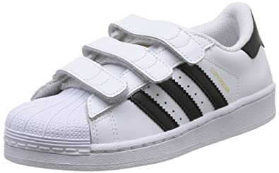 0b3920d3c255 adidas Superstar Foundation Unisex-Kinder Sneakers, Weiß (Foundatio  Ftwwht Cbl),