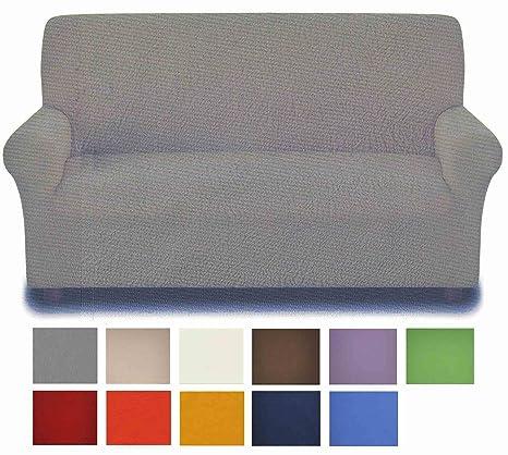 Antimanchas: funda para sofá de 3 plazas de 180 a 250 cm - MARRONE - BROWN