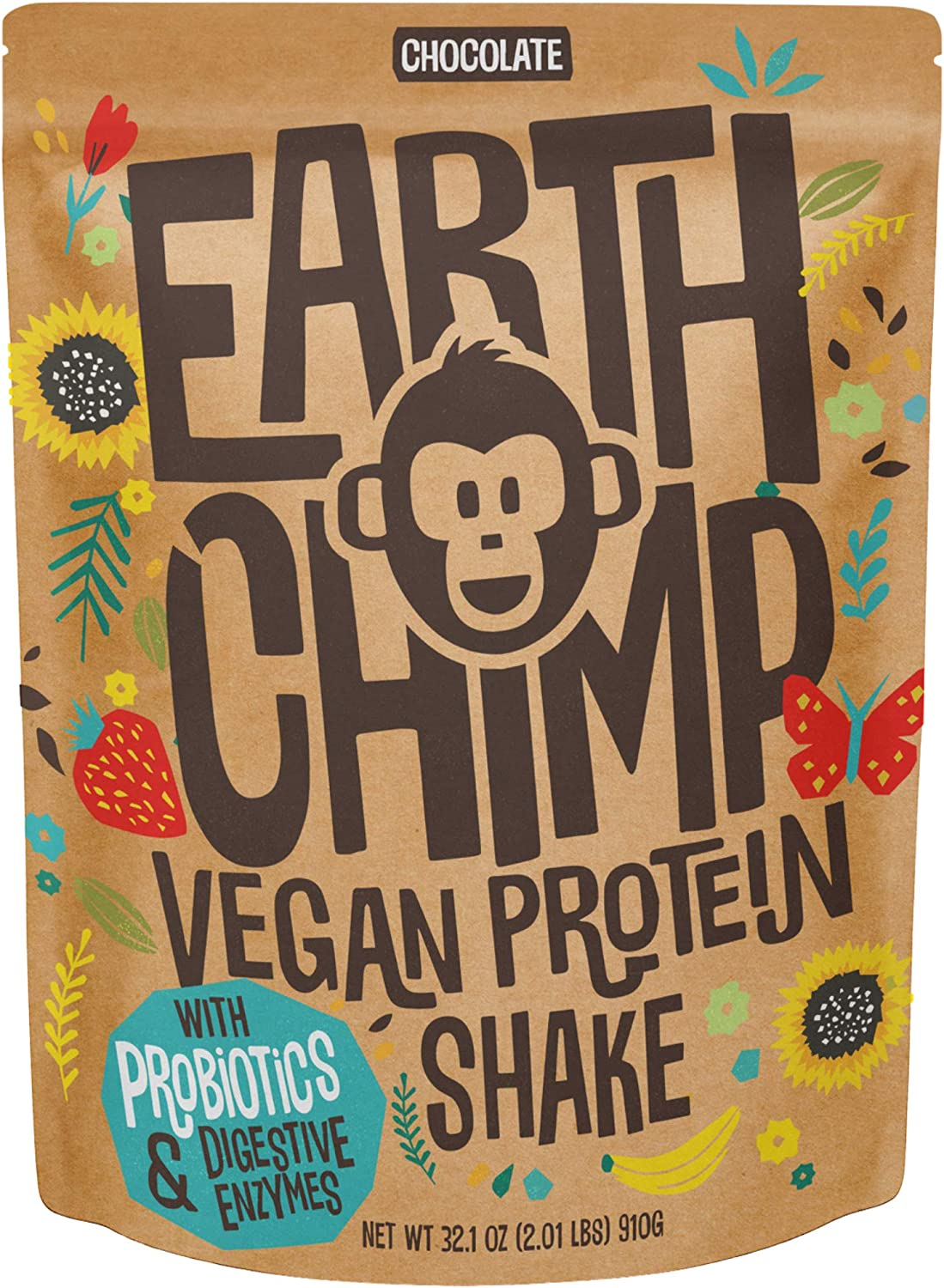 EarthChimp Vegan Protein Powder