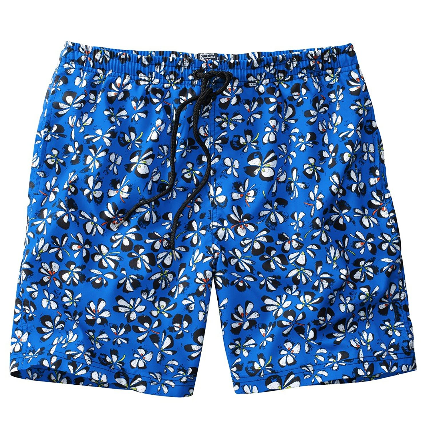 Allover royal blue swimming pools and Swimming Trunks Oversize Ceceba