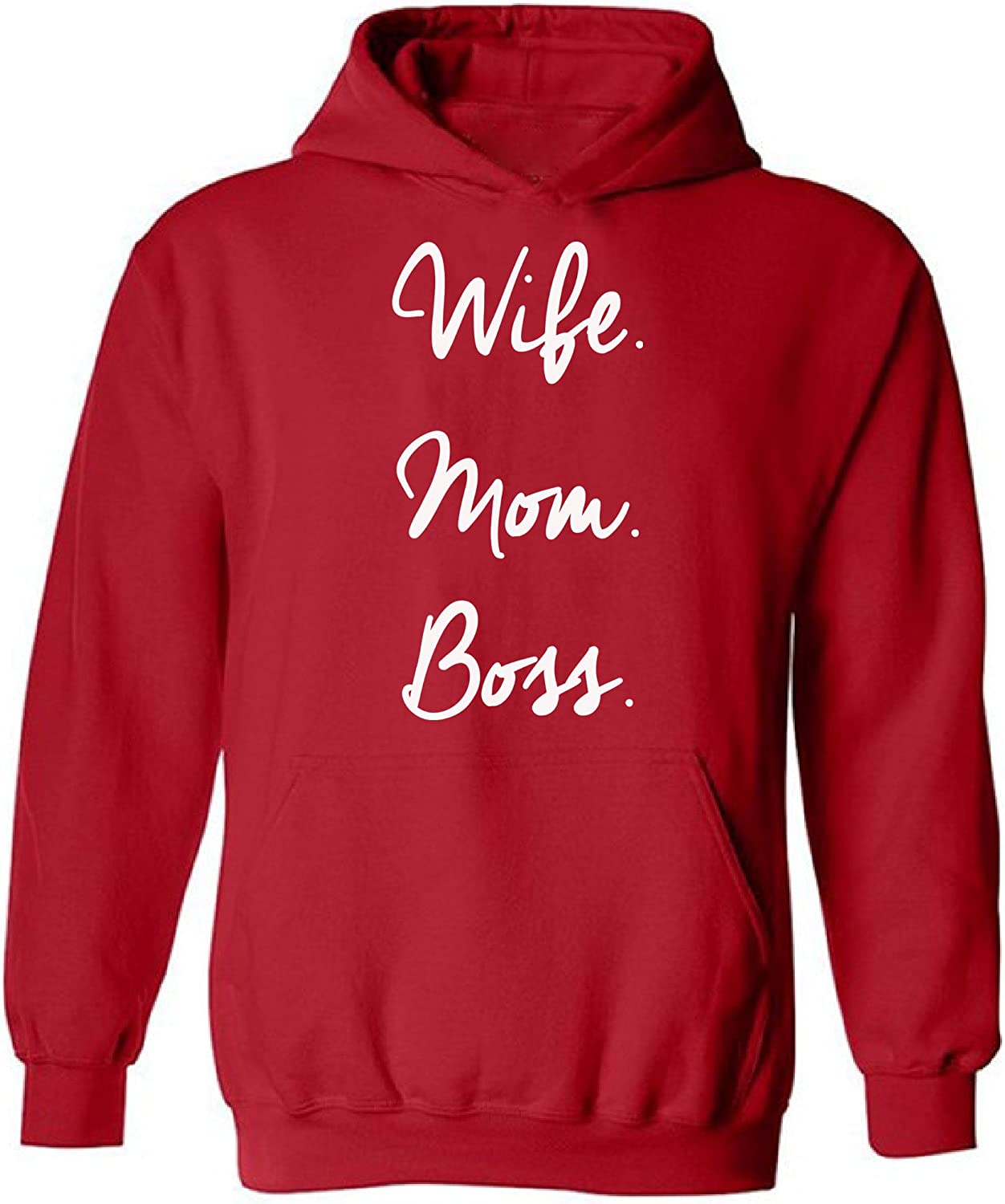 Wife Mom Boss Hoodies Mother/'s Day Mom Life New Mom For Mom For Wife Sweatshirts