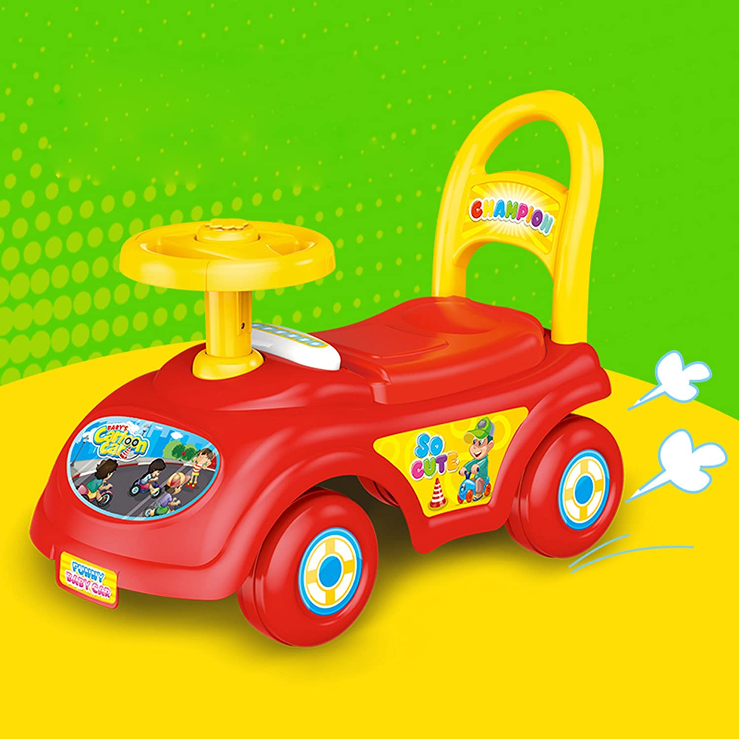 Amazon.com: COLORTREE Baby Ride On Car: Toys & Games