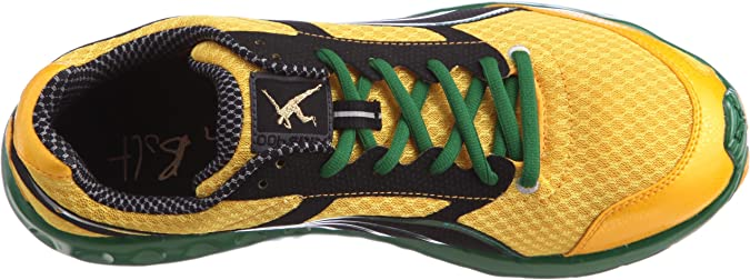 PUMA Bolt Faas 400 Jam gelb Gr.41: : Schuhe