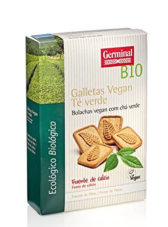 Germinal, Galleta de chocolate (Te verde) - 250 gr.