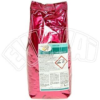 KG 1–Acido tartarico Corrector de acidità para Mosto y Vino–Uso Enologico Cilli