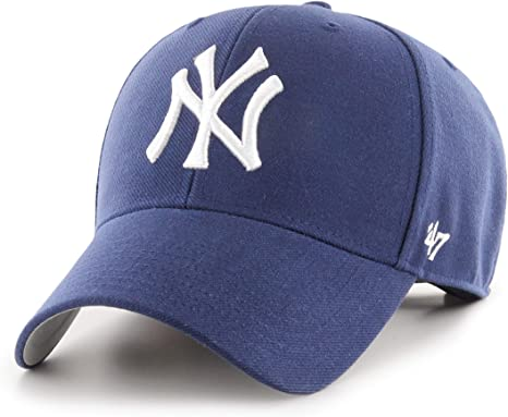 47 New York Yankees Gorra, (All Black), Fabricante: Talla única ...