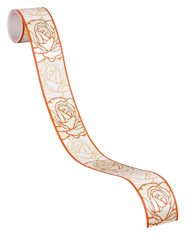A.S. Création selbstklebende Bordüre Stick ups 5, 00 m x 0, 05 m grau schwarz weiß Made in Germany 905024 9050-24 A.S. Création