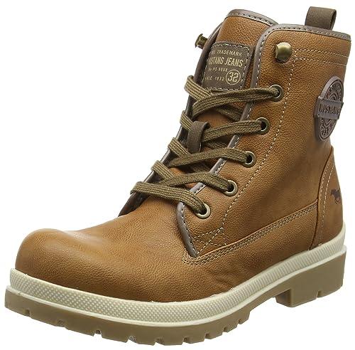 Mustang 1207-601, Botines Para Mujer, Marrón (Cognac), 38 EU: Amazon.es: Zapatos y complementos