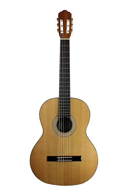 Amazon.com: Kremona S65C Soloist Series Nylon String Guitar with Gig ...