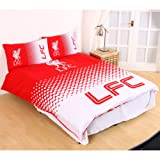 Liverpool FC Fade Double Duvet Cover and Pillowcase Set