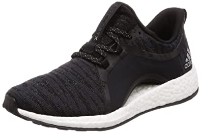 huge discount a7b69 54856 adidas Damen Pureboost X Fitnessschuhe Grau (CarbonPlametNegbas 000) 37 1
