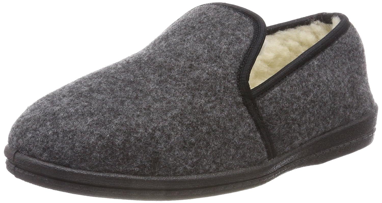 revise - Mocasines para Hombre Gris Grau/Filz: Amazon.es: Zapatos y complementos