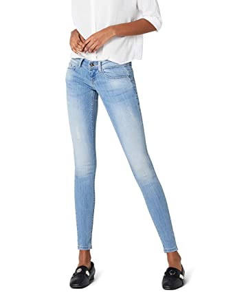 095eaff7528c ONLY Damen Jeanshose onlCORAL SL SK Jeans CRE332 NOOS Blau (Medium Blue  Denim) W25