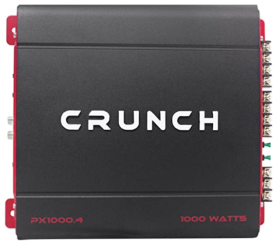 amazon com crunch px 1000 4 1000 watt 4 ch powerful car audio Dual Amp Wiring Diagram at Crunch Amp Wiring Diagram