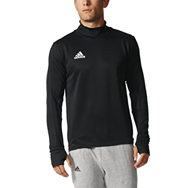 be11d5c93 adidas Tiro 17 Mens Soccer Training Top: Amazon.co.uk: Sports & Outdoors