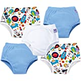 Bambino Mio, Potty Training Pants, Mixed Boy, Outer Space, 3+ Years (5 Pack)