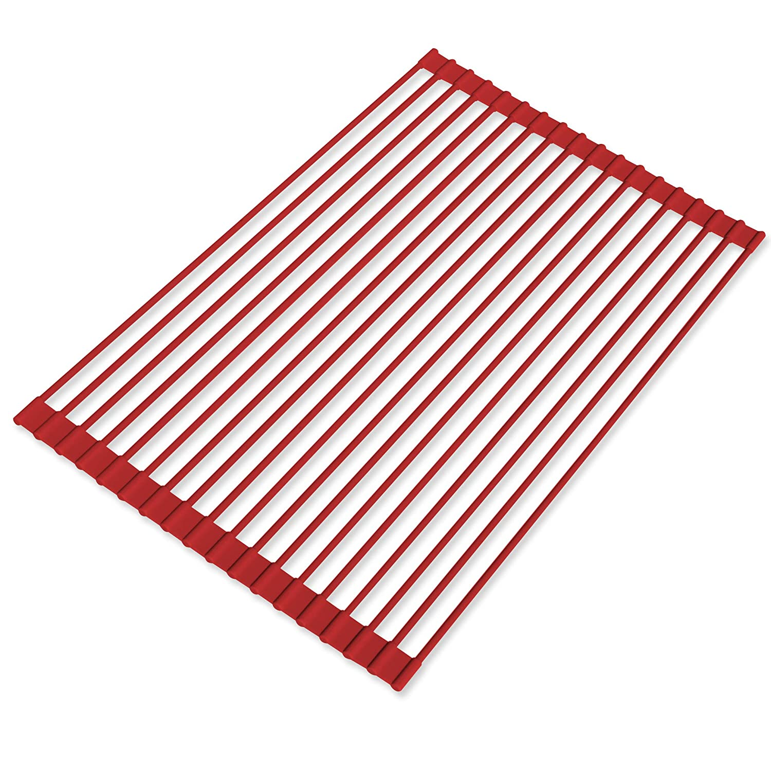 Over the Sink Roll-Up Drying Rack Limited Edition Red