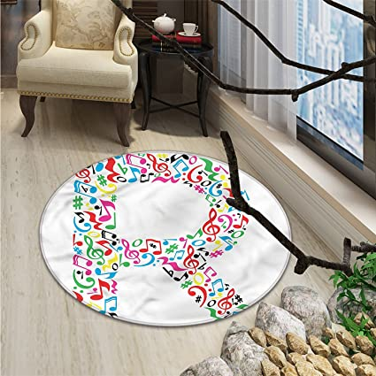 Amazon Letter R Round Area Rug Carpet Cool And Creative Arts Magnificent Best Living Room Carpet Creative
