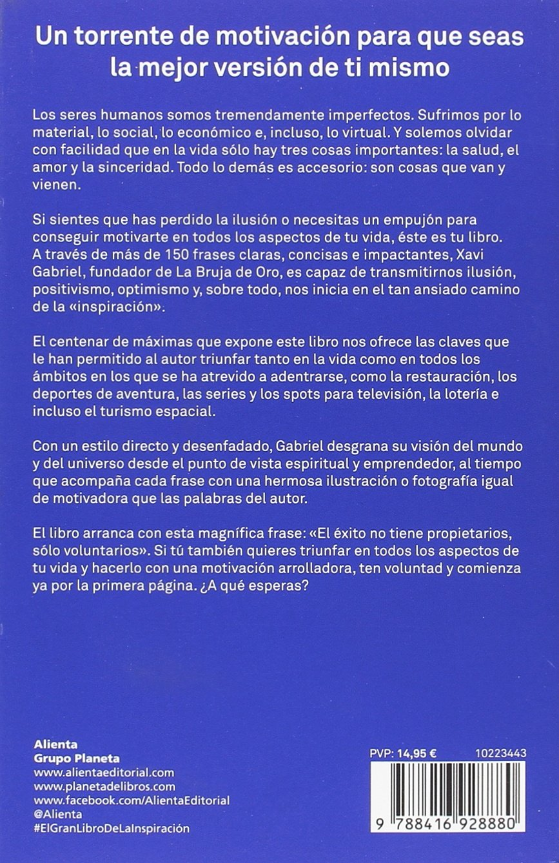 El Gran Libro De La Inspiracion Amazon Co Uk 9788416928880 Books