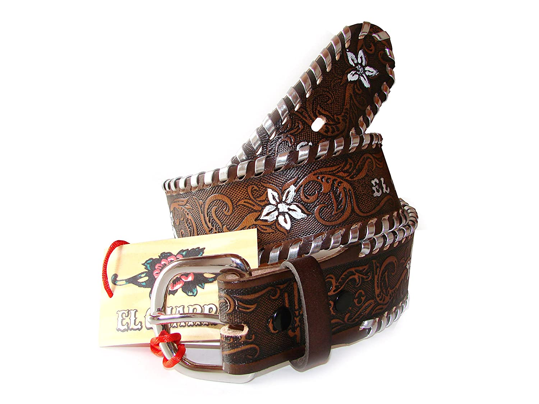 007b80ee73 CHARRO El E511 Cintura Vintage in Cuoio Unisex  Amazon.it  Abbigliamento