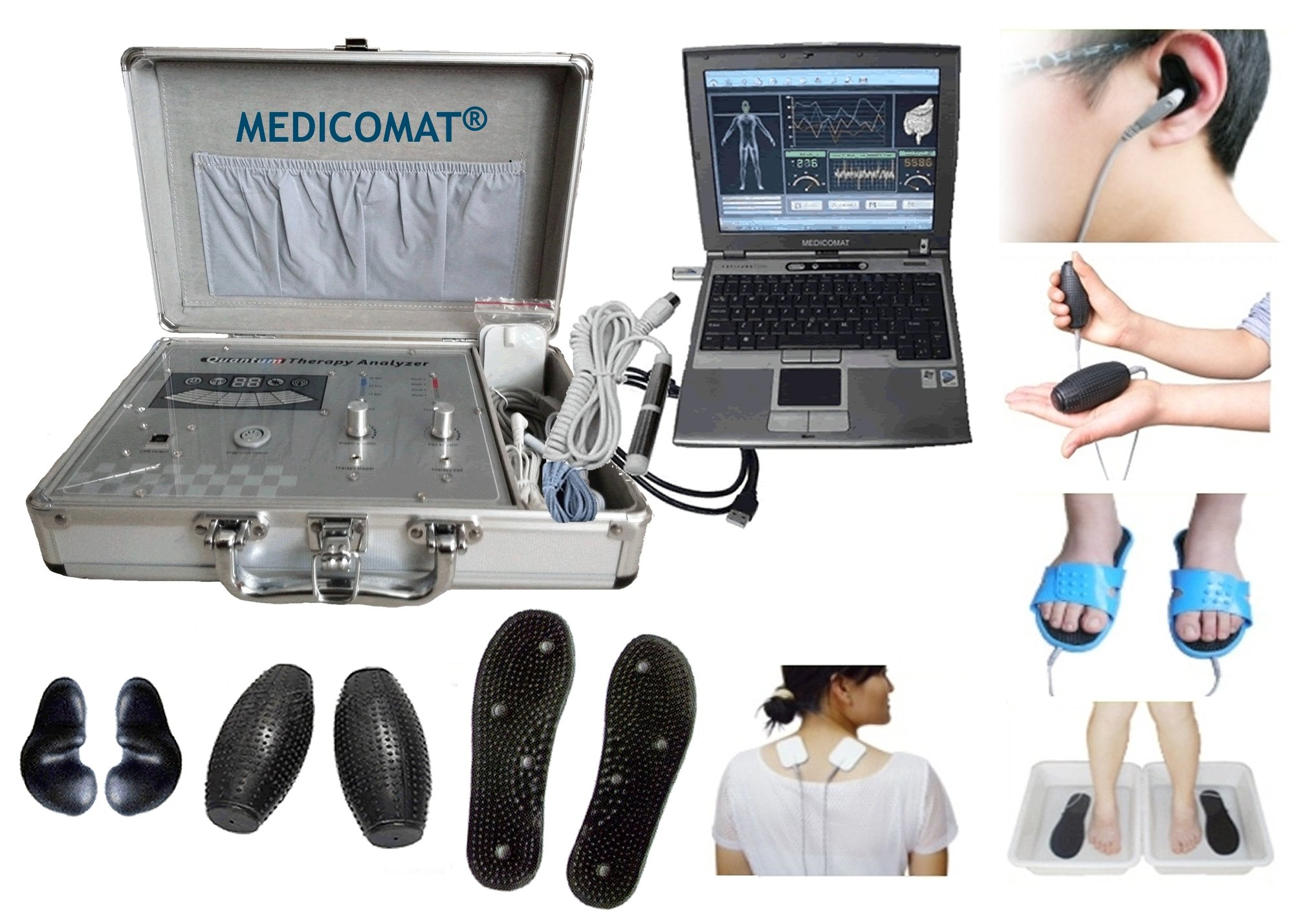 Healthy Living at Home Medicomat-291 Quantum Healthy Computer Therapy Analyzer System