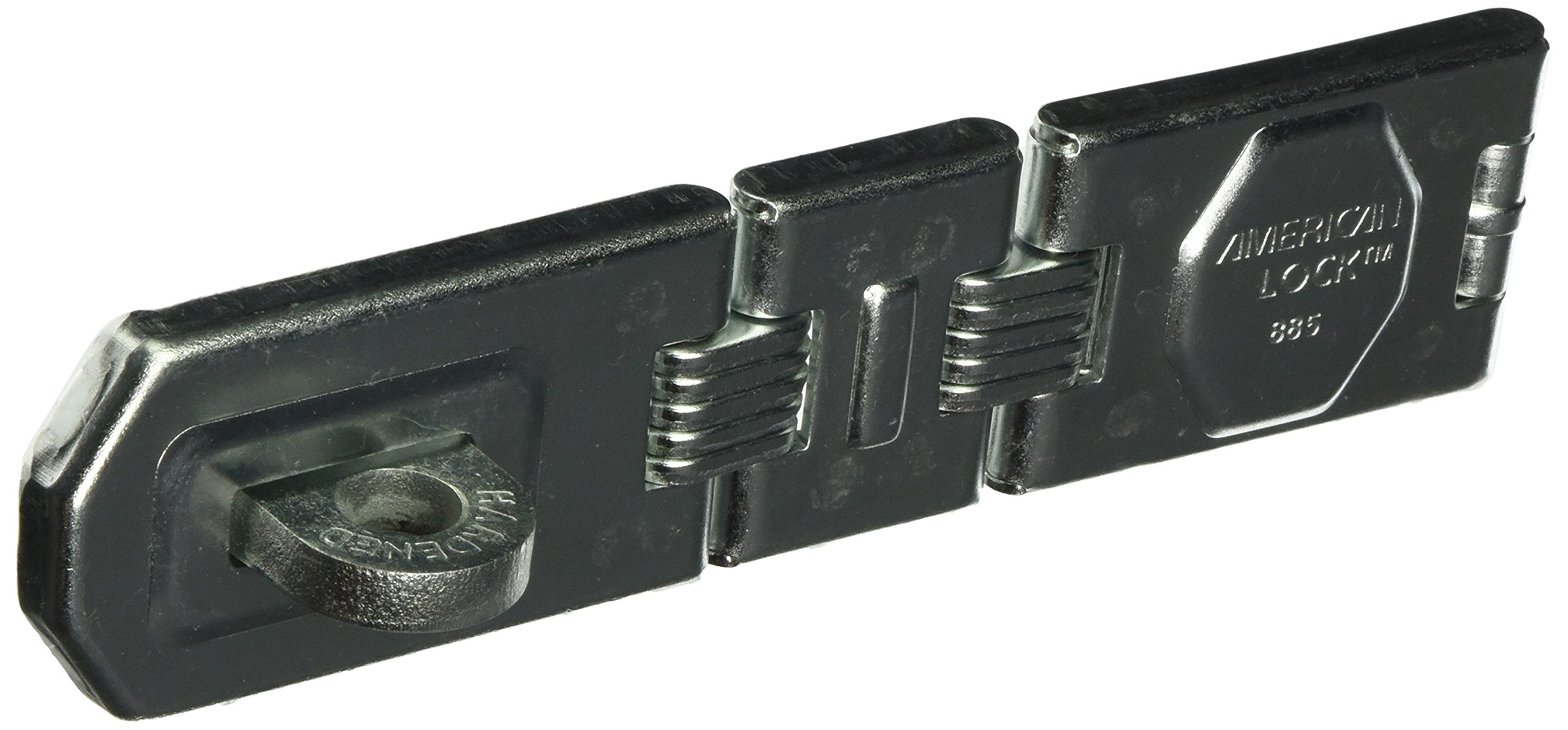 MASTER LOCK A885D Hasp Double Hinge, 7-3/4'' by Master Lock