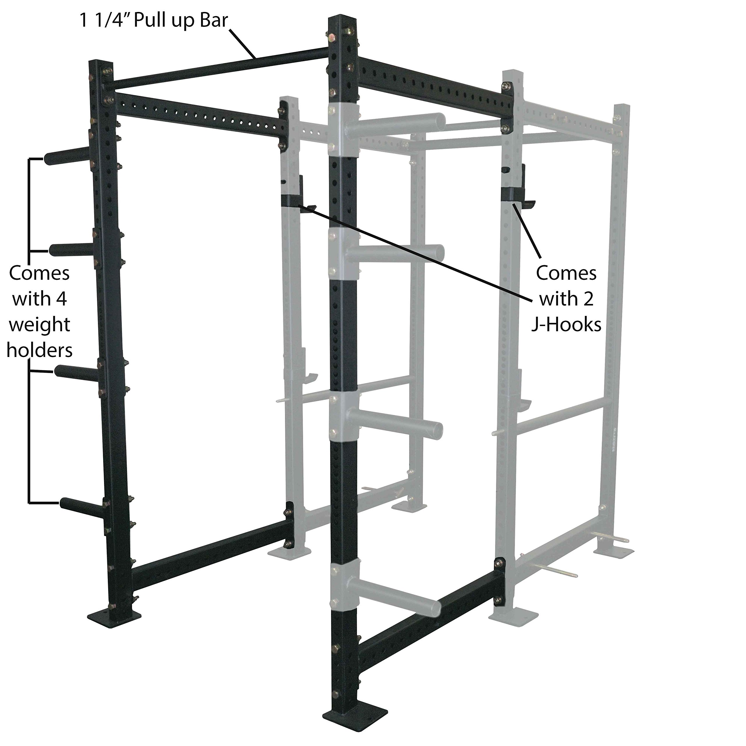 36'' Extension Kit For T-3 Short Power Rack by Titan Fitness (Image #1)