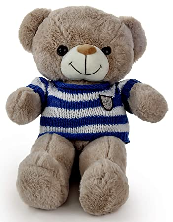 LOFA Bear-in-The-Sweater Plush Toy (Brown)
