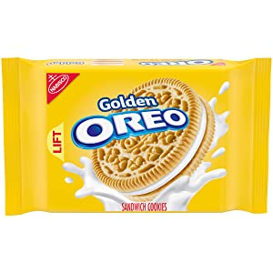 OREO Golden Sandwich Cookies, 14.3 oz