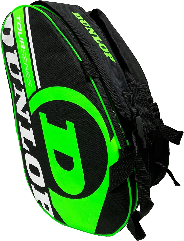 Dunlop - Paletero Tour Intro Negro/Verde: Amazon.es: Deportes y aire libre