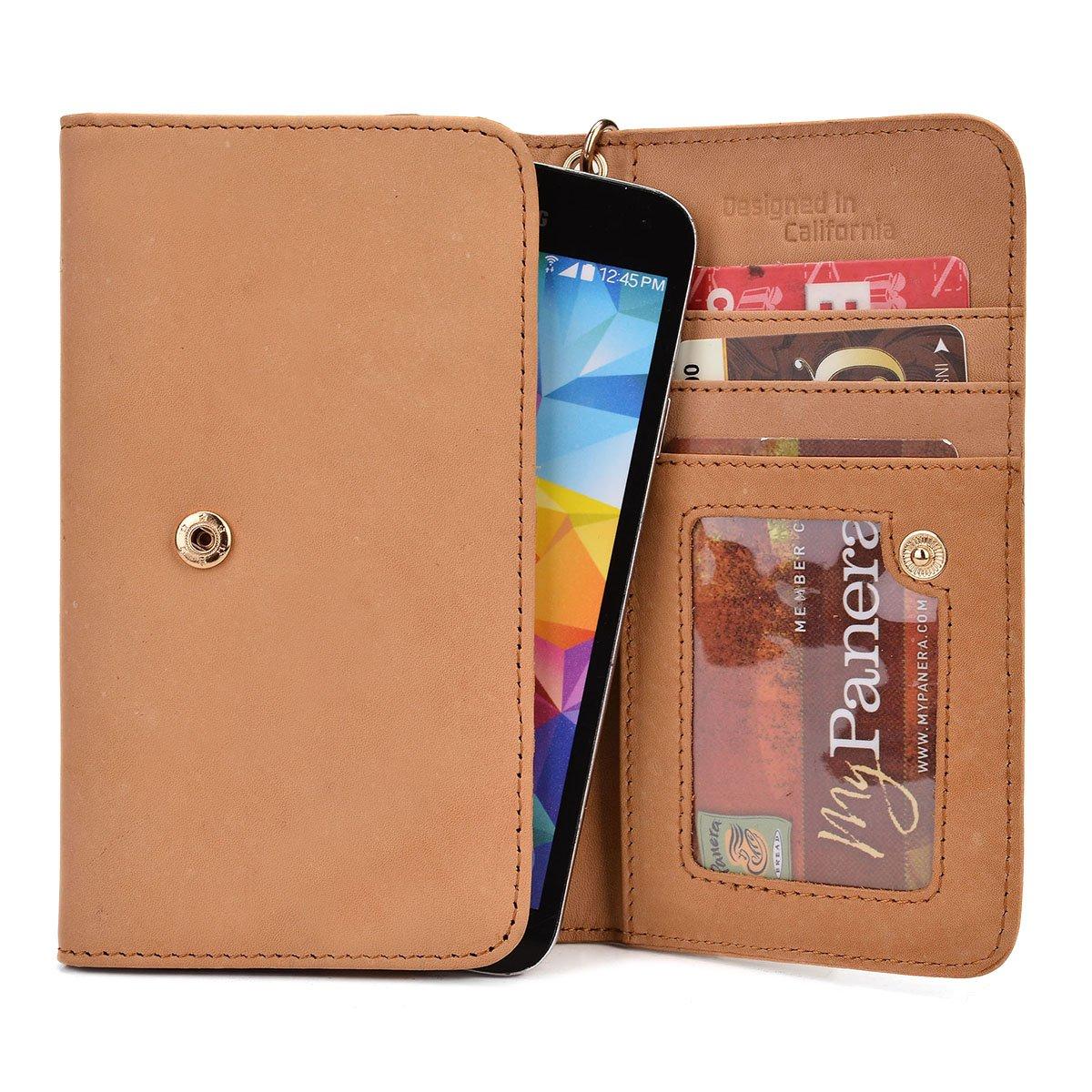 Amazon.com: Ekatomi174; Genuine Leather Cell Phone Cover ...